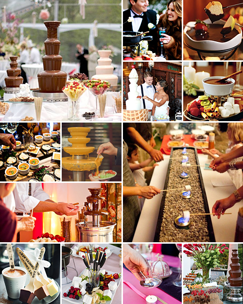 fondue wedding ideas