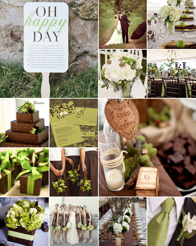 green-and-brown-weddings