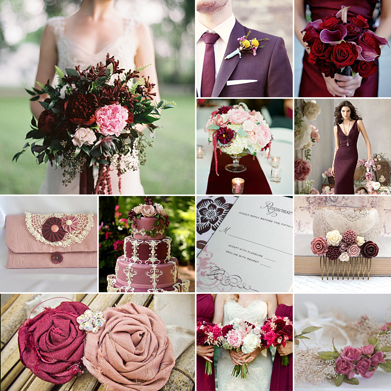 dusty-pink-burgundy-wedding