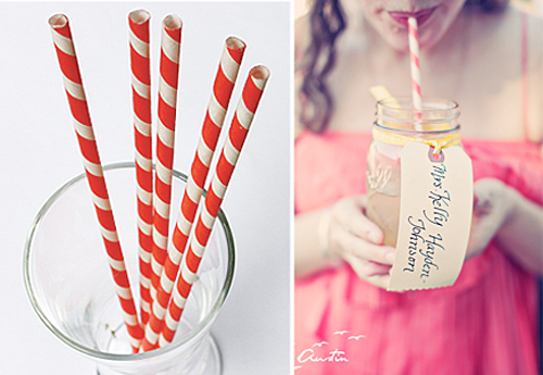 Whimsical Sippy Straws