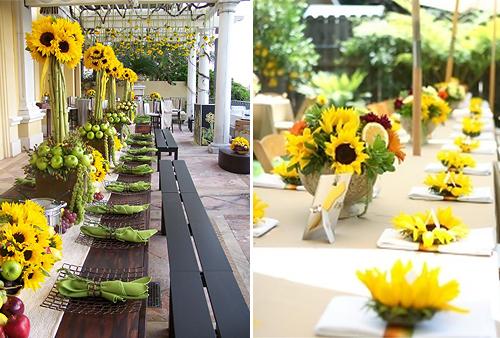 Wedding Ideas Blog: Sunflower Wedding Theme