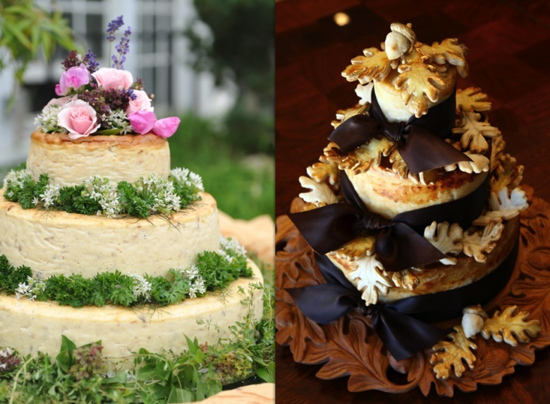 Wedding Cakes Made Of Cheese North West
