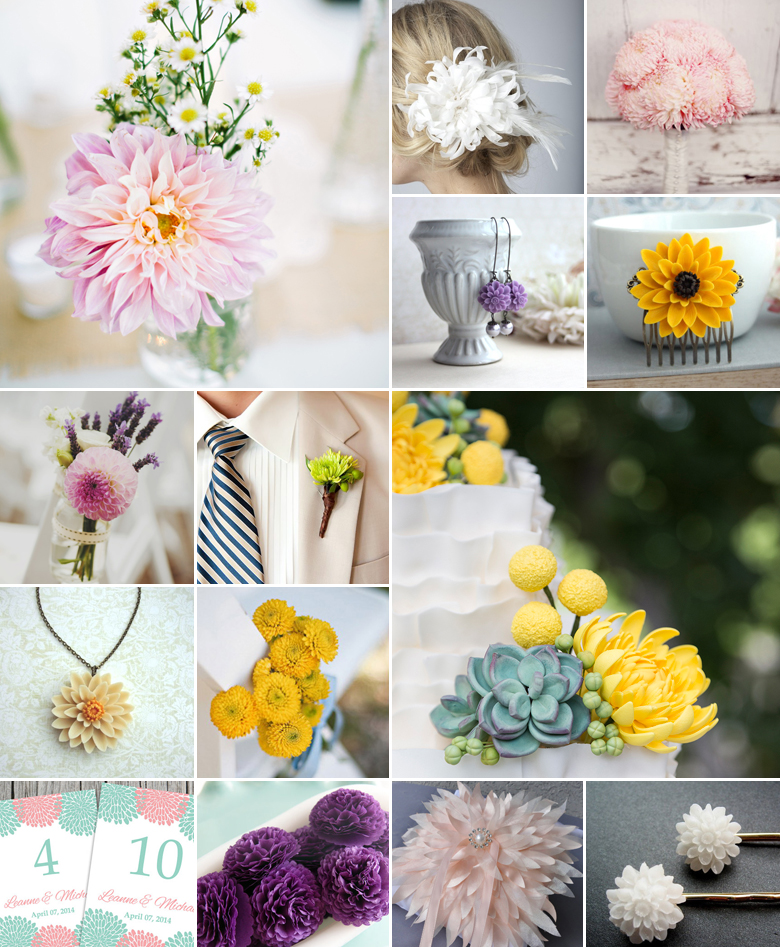 Weddings South Africa Wedding Blog Flowers Bouquets Chrysanthemums