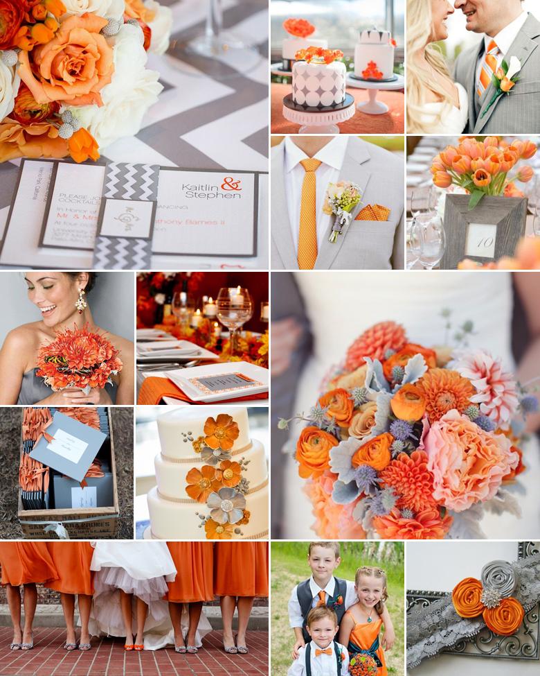 orange-and-grey-weddings