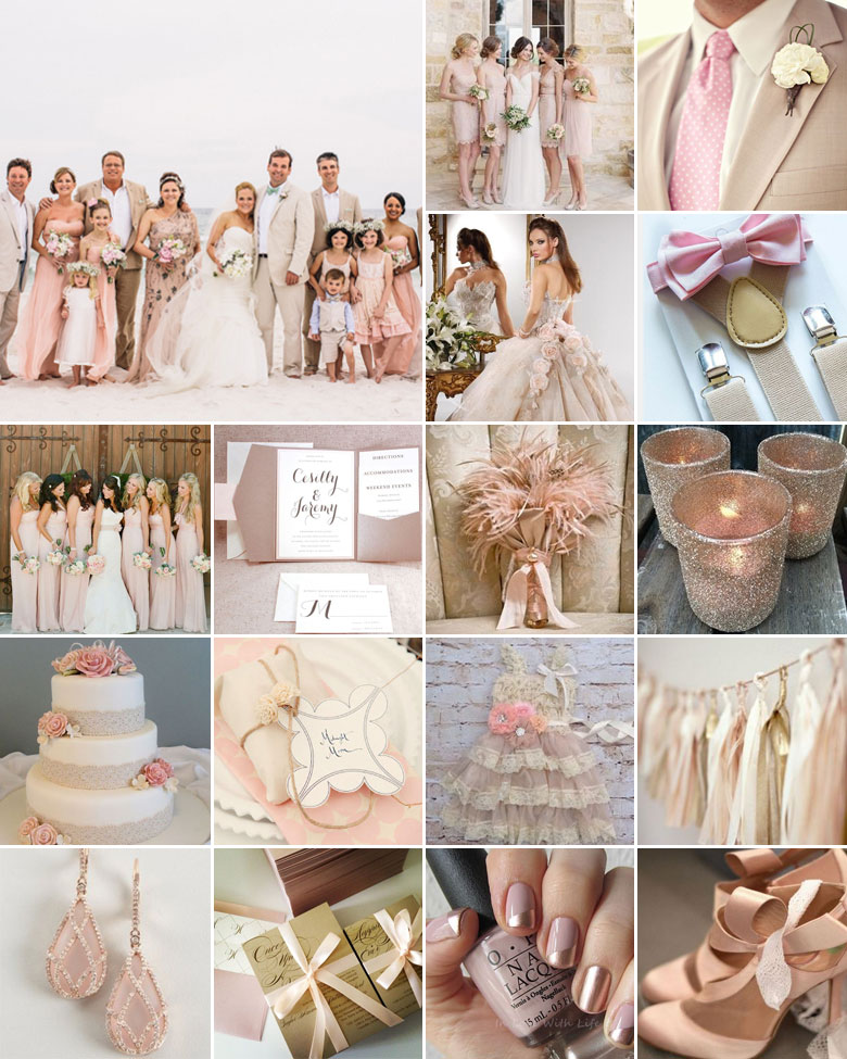 pink-beige-wedding-colours