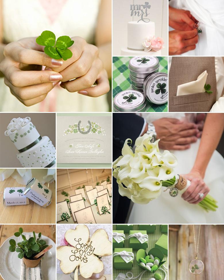 four-leaf-clover-wedding-theme