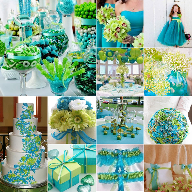 turquoise-and-lime-weddings