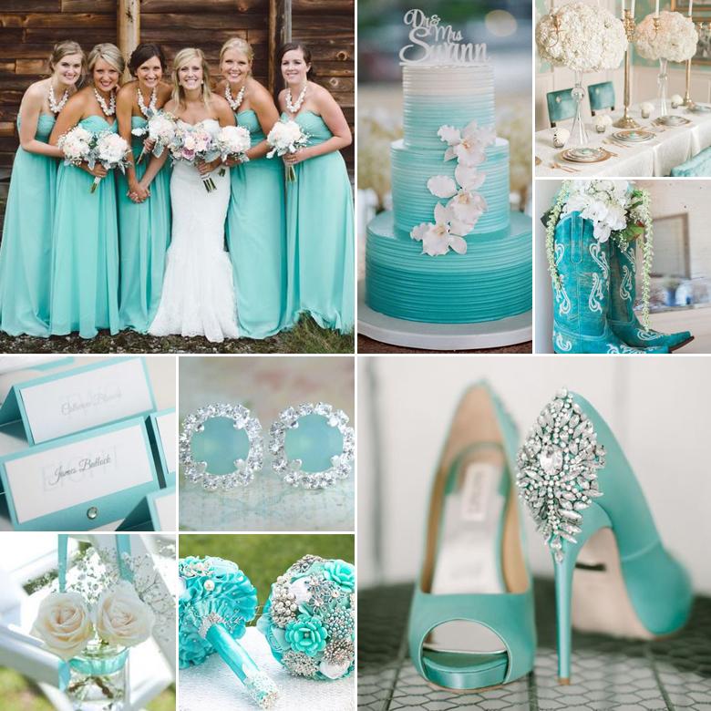 aqua-wedding-colours