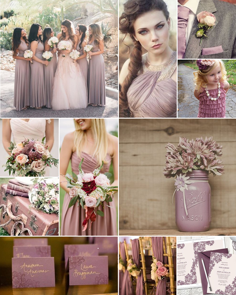 Move Over for Mauve { Soft + Lovely }