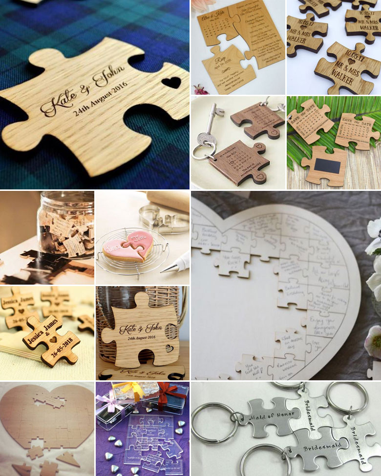 puzzle-wedding-favours