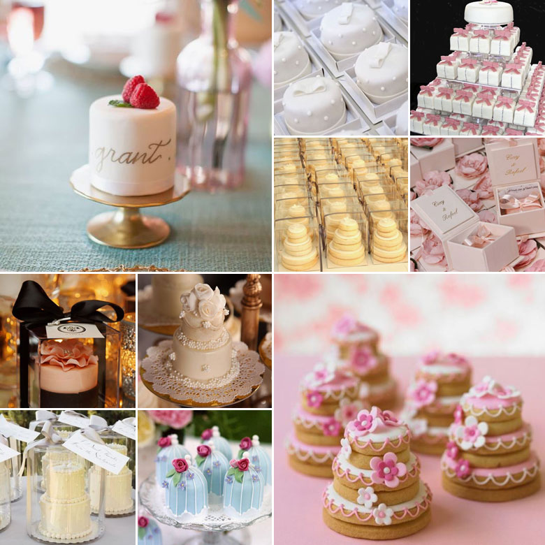 Guest Favours { Wedding Cakes }