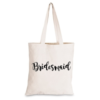 Funky Bridesmaid Tote Bag