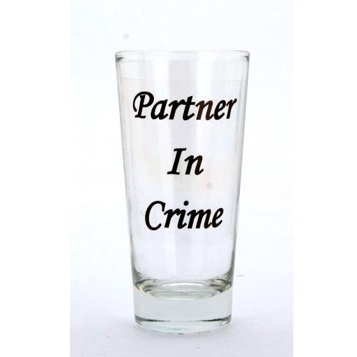 Partner In Crime Shot Glass