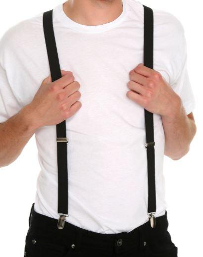 Black Suspenders / Braces